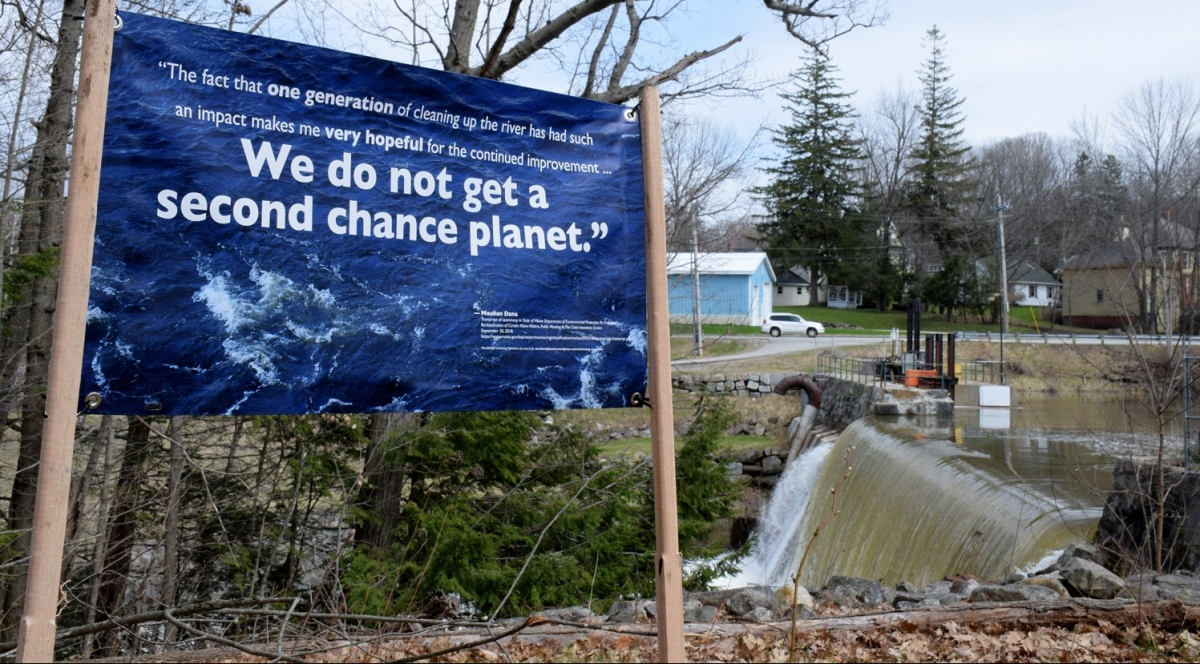 We do not get a second chance planet - banner slogan